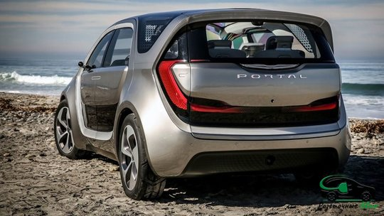Электромобиль Chrysler Portal