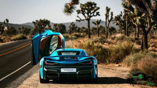 Гиперкар Rimac C_Two California Edition