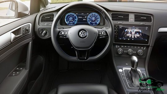 Салон Volkswagen e-Golf